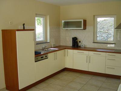 Modern ingerichte keuken met alle comfort